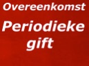 periodieke gift